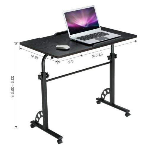 Angle Height Laptop Bed Side Table Stand Home