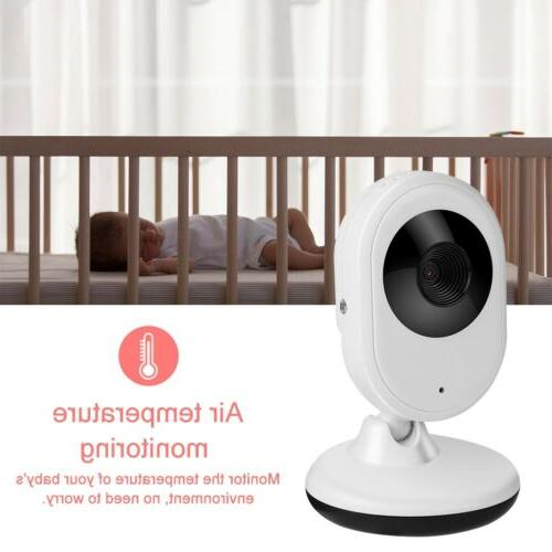 2.4GHz Wireless LCD Baby Monitor Night Vision Audio Video
