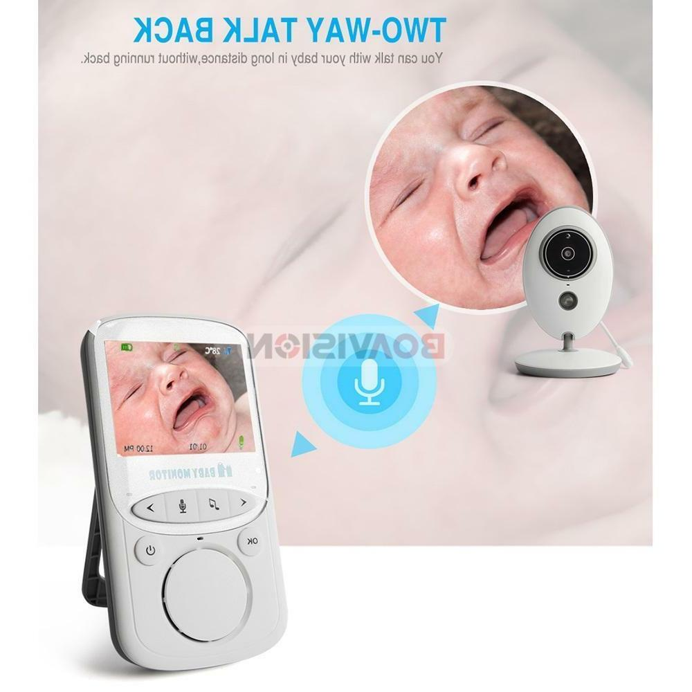 2-Way Talk Wireless Monitor Night Camera