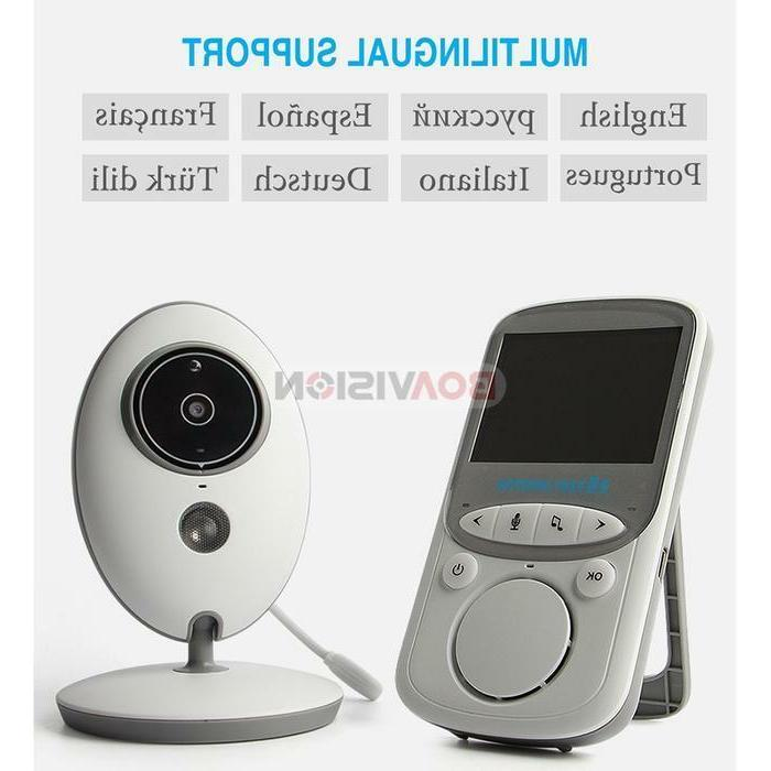 2-Way Talk Wireless Monitor Night Vision Video Camera sensor