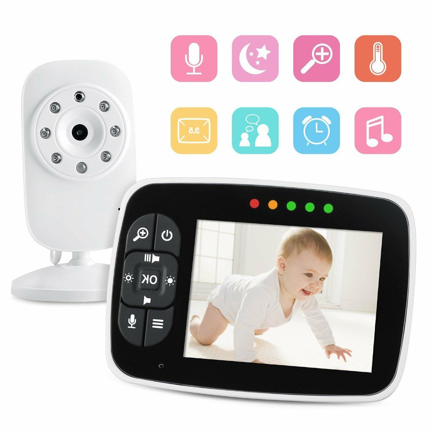 3 5 baby monitor wireless home security