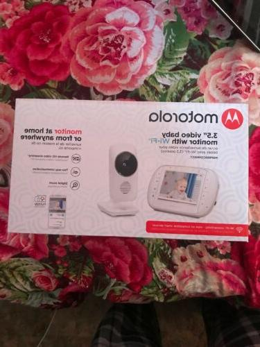 3 5 video baby monitor with wi