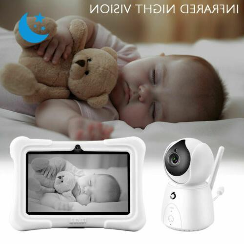 2.4GHz Wireless Baby Monitor Camera Digital LCD Night Vision