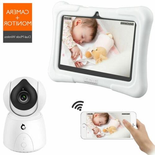 Dragon Touch Future 1 Baby Monitor IPS LCD Touch Screen Nigh