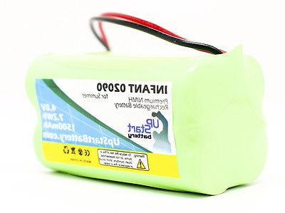 Summer Infant 02090 Battery Replacement, New, Lifetime Warra