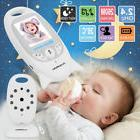 Wireless 2.4 GHz Baby Monitor 2Way Talk Night Vision LCD Sec