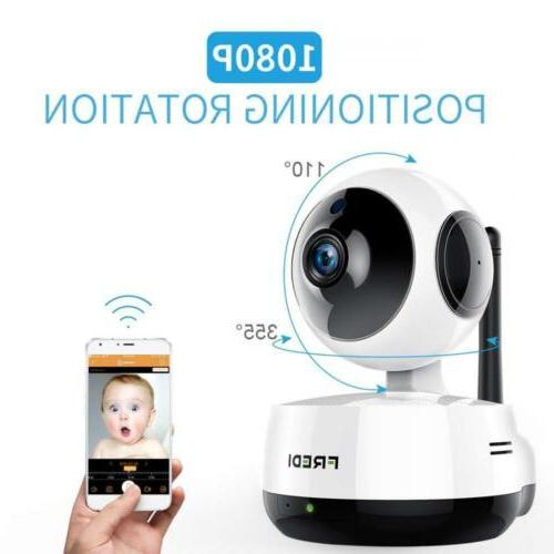 FREDI Wireless 1080P Ip Baby Monitor Camera WiFi Home Securi