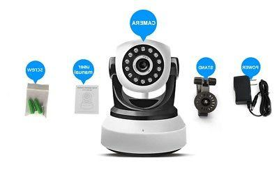 Home Baby Monitor IP Camera 720P Wireless Wi-Fi