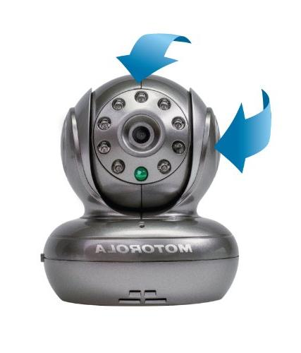 Motorola Blink1 Wi-Fi Camera for Remote with and Android Smartphones and