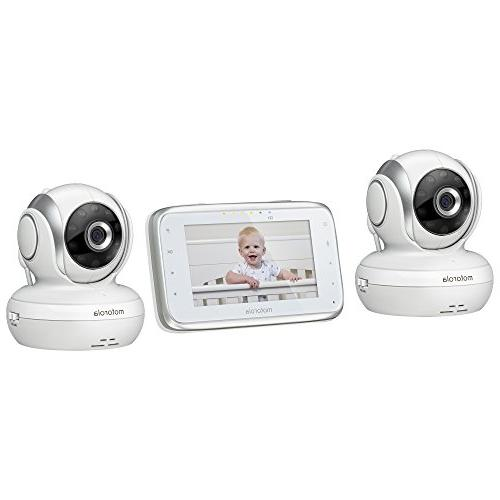 Motorola MBP38S-2 Digital Video Baby Monitor with Color Screen 2 Cameras Pan, and Zoom