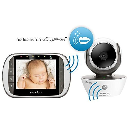 Motorola Baby with LCD Monitor and Wi-Fi Viewing