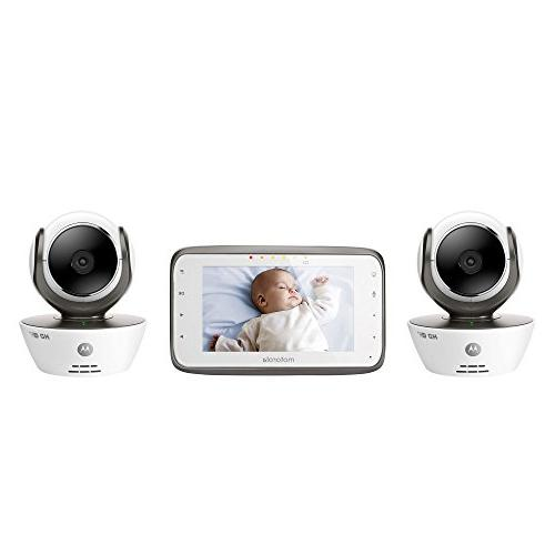 Motorola Dual Mode Baby Monitor 2 Cameras and 4.3-Inch Parent Monitor and Internet