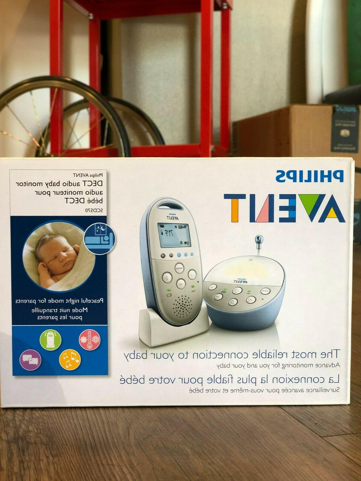 Philips Avent DECT Audio Baby Monitor SCD570 BRAND NEW
