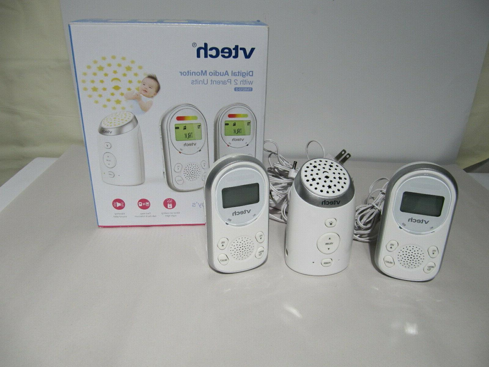 VTech DM221-2 Safe & Sound Digital Audio Baby Monitor with T