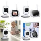 Video Baby Monitor, Wireless Monitor Camera W Remote Home