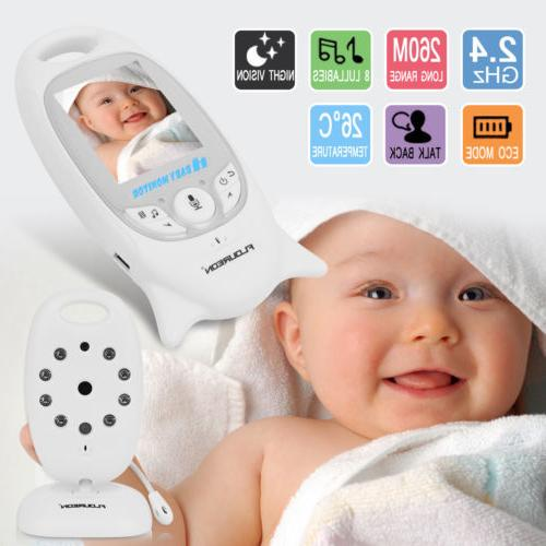 Wireless Baby Monitor LCD Security Camera Display 2Way Talk
