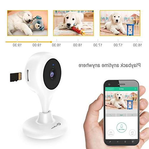 Wireless Security Camera, MiSafes WiFi Baby Pet Video