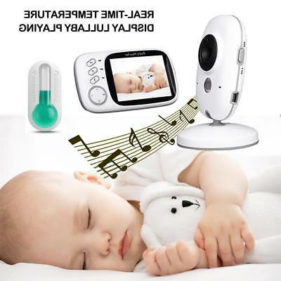 Baby Display Video Monitor with Night and Temper