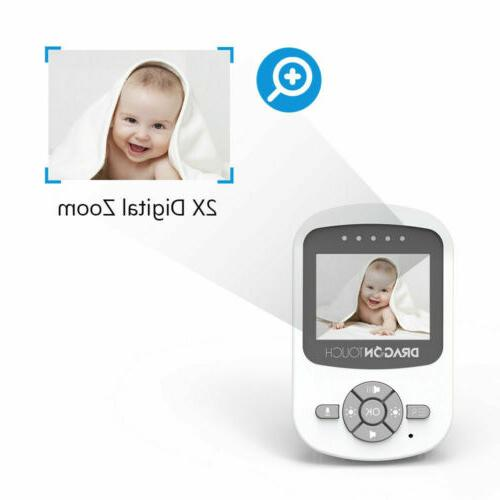 Baby Monitor Wireless Security Camera Audio 2.4GHz