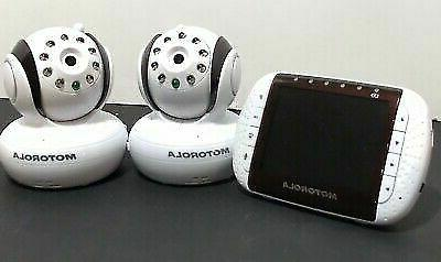 "MOTOROLA BABY MONITOR MBP36BU 3"" SCREEN 3"
