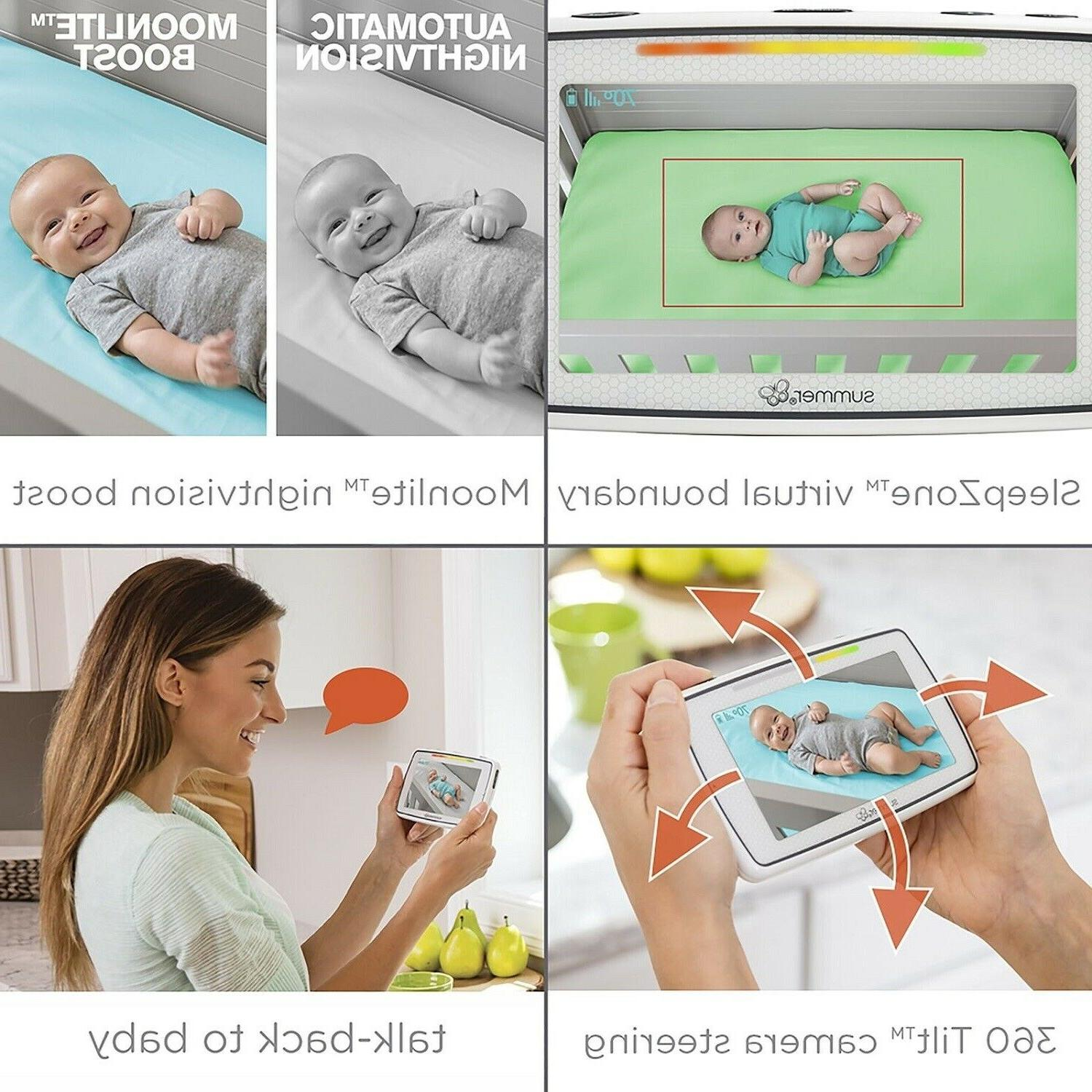 Summer 5.0 Inch Touchscreen Color Video