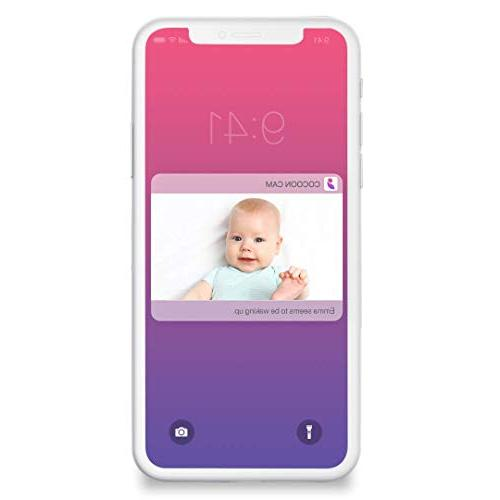 Cocoon Cam Baby Monitor Monitoring -