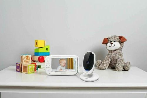 "Motorola Comfort 50 Baby Monitor with 5"" Color Display Infrared"