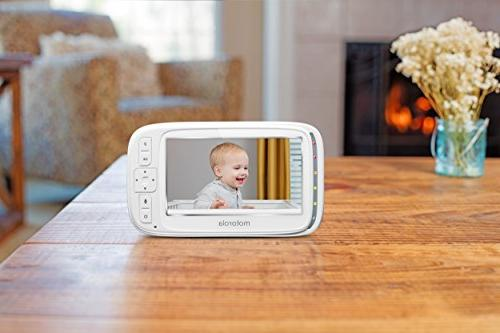Motorola Comfort Video Audio Monitor with 5-Inch Color Screen and