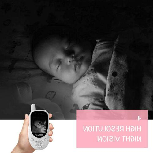 Baby Monitor 2.4GHz Wireless Video Vision