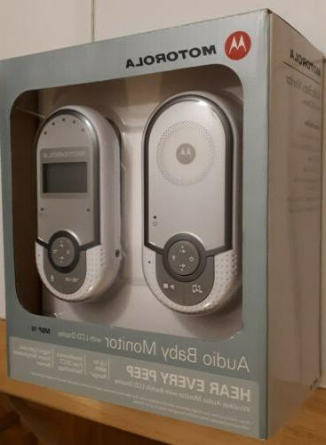 digital audio baby monitor with room temperature