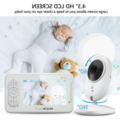 dt40 baby monitor camera video night vision