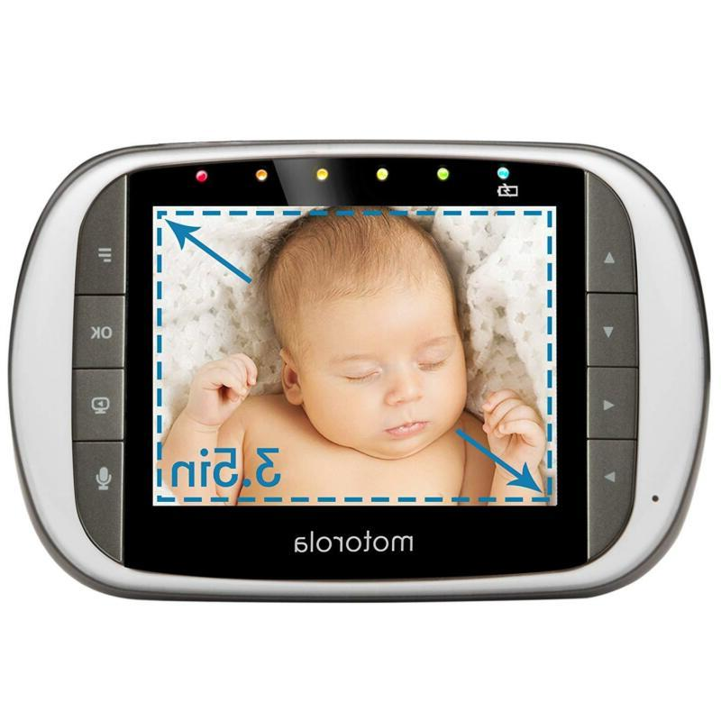 """Dual Baby Monitor with 3.5/4.3"""" Monitor & Viewing"""