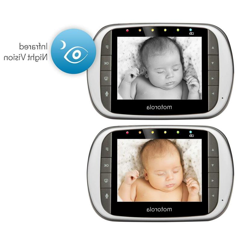 """Dual Mode Monitor with 3.5/4.3"""" LCD Monitor & Internet Viewing"""