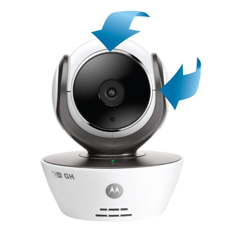 dual mode baby monitor with 3 5