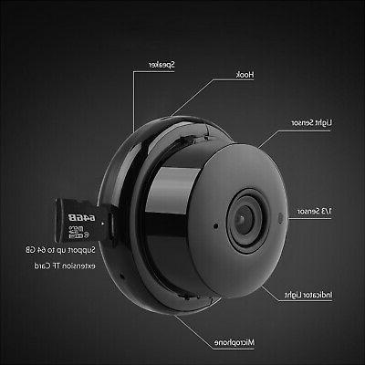 1080P HD Smart Home Security IP Wireless CCTV Baby Monitor