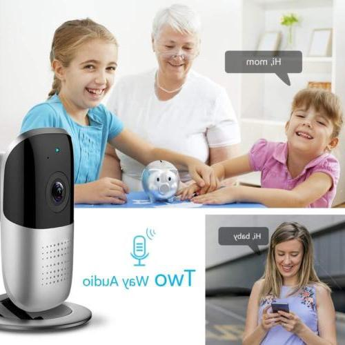 HD Smart Wifi IP Home Security Baby Monitor Cam Night