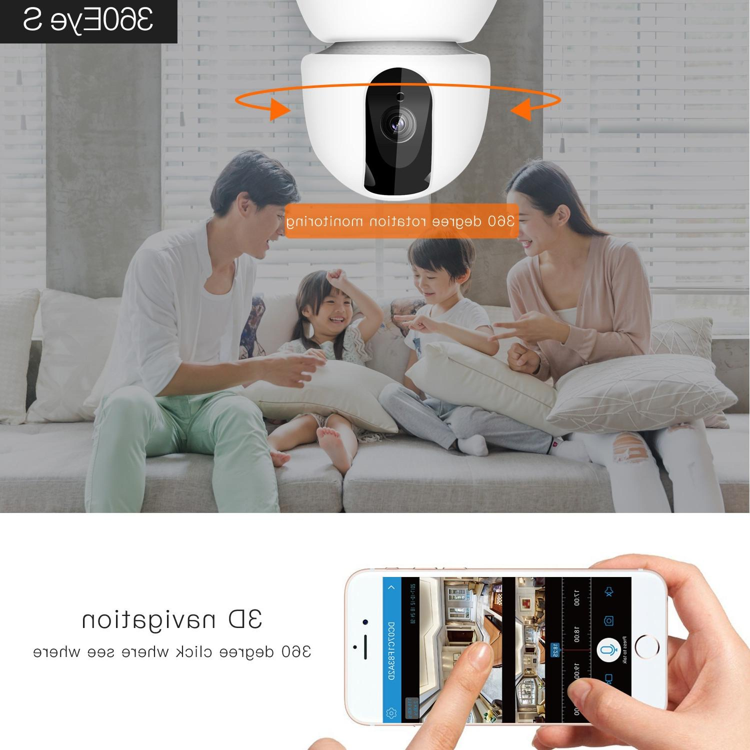 Cloud Wireless IP Wifi Camera Tracking Home Surveillance VCR