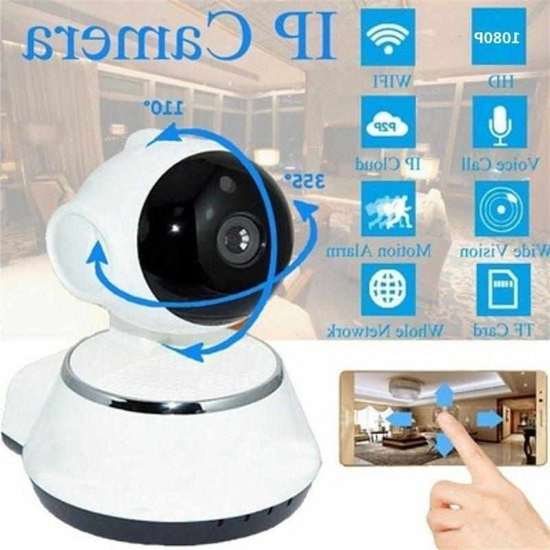 HD IP Camera Webcam Baby Pet Monitor Pan Remote