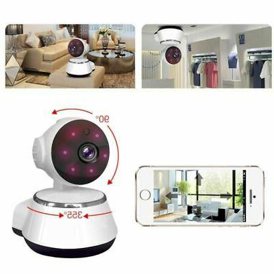 HD Wifi IP Camera Webcam Baby Pet Monitor Pan Remote Home Security
