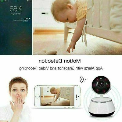 HD Wireless Camera Webcam Baby Pet Monitor Pan Home Security