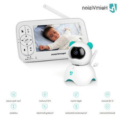 hm136 video baby monitor 720p hd two