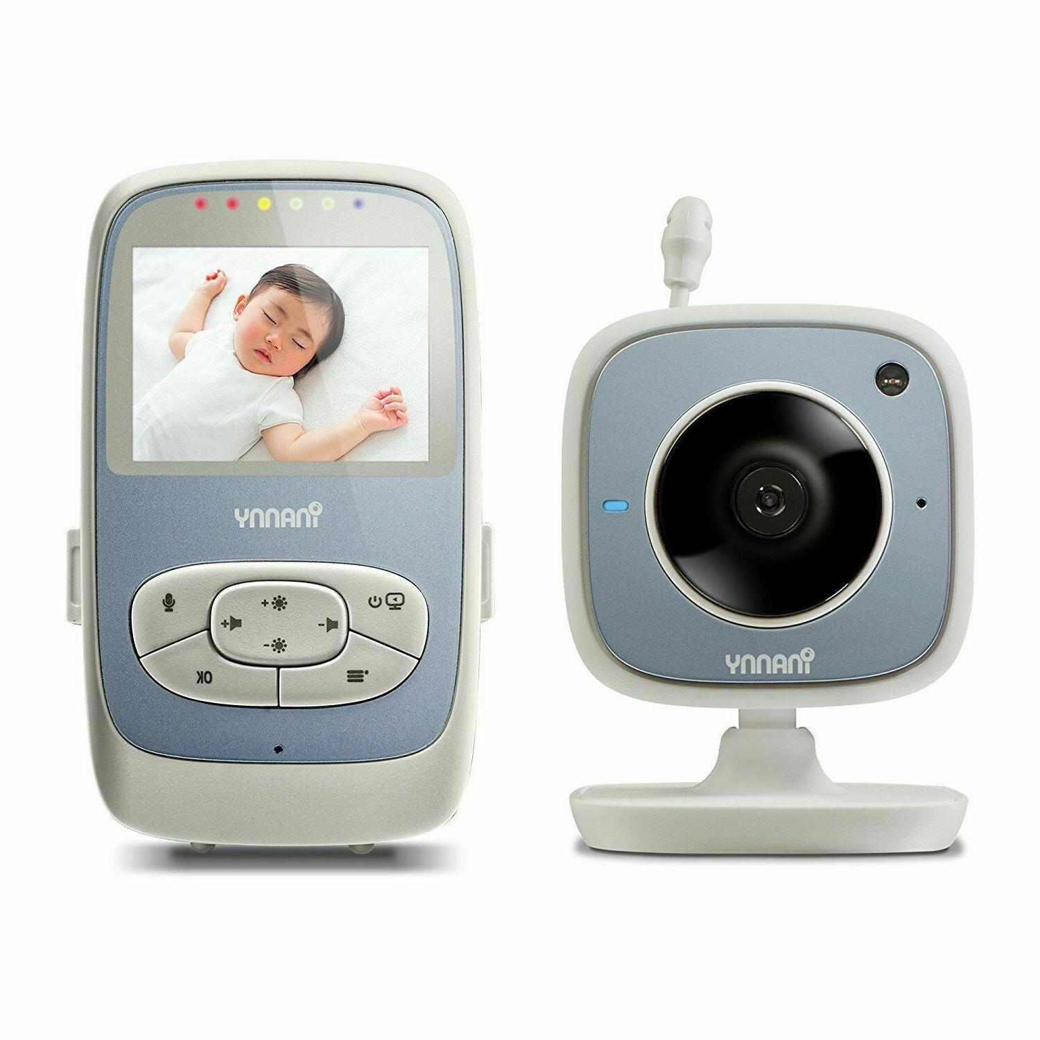 iNanny NM288 Digital Video Baby Monitor with 2.4-Inch LCD Di