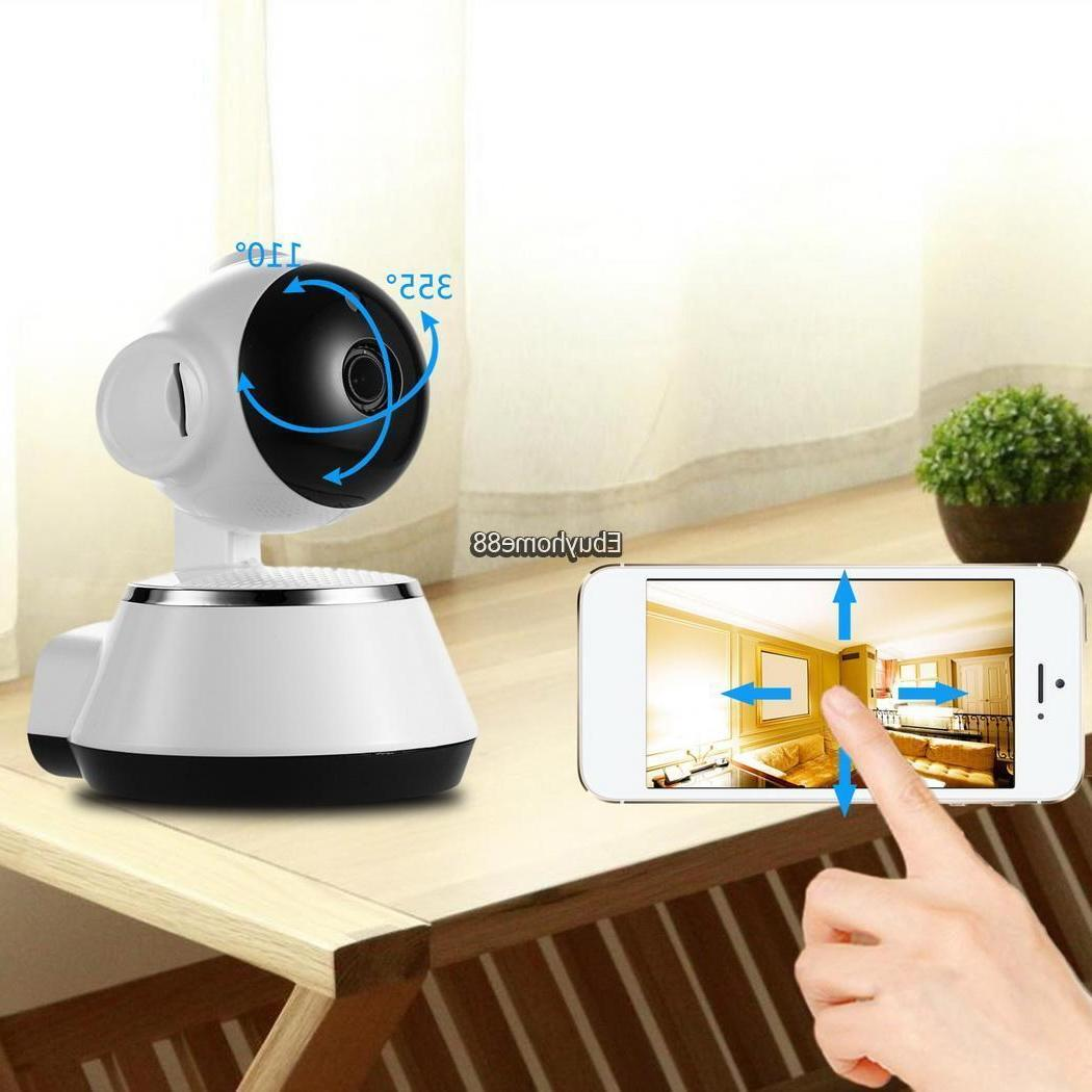 IP Wireless WIFI Baby Monitor Video Camera Night Vision For
