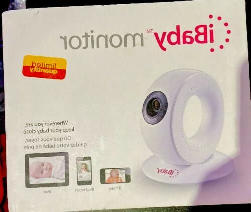 NEW! IBABY MONITOR – M2 WIRELESS DIGITAL VIDEO MONITOR WIT