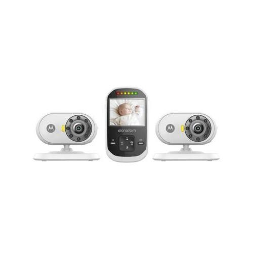 Motorola MBP25PU 2 Wireless MBP25BU Video Baby Monitor with