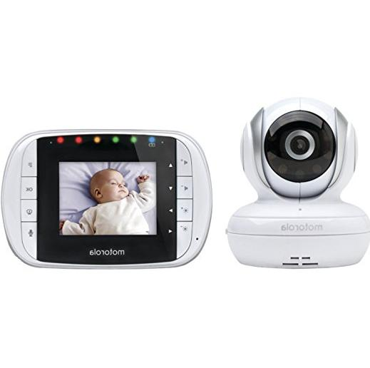 Motorola Mbp33 Wireless Video Baby Monitor With Infrared