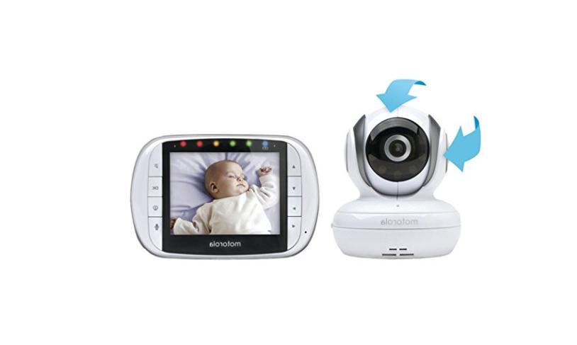 Motorola MBP36S Remote Wireless Video Baby Monitor- Baby Mon