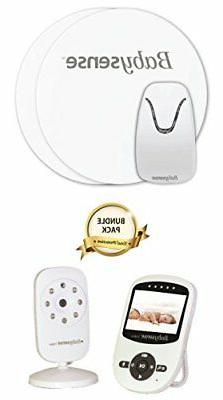 Model: Babysense Video + Baby Movement Monitor - Bundle Pack