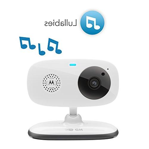 Motorola Video Baby Monitor with 2.4-Inch Zoom and Communication