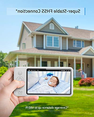 Baby Monitor, SpaceView Video Pioneering Generation, LCD Display, 110° Lens Up 460 Battery